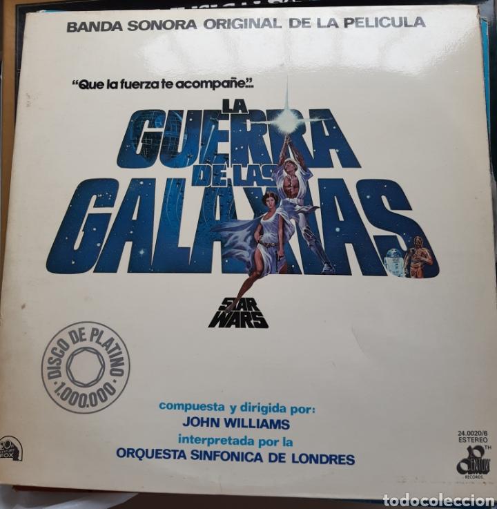 Discos de vinilo: Vinilo banda sonora Star Wars con poster - Foto 2 - 218108230