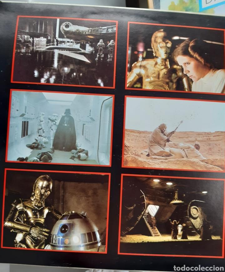 Discos de vinilo: Vinilo banda sonora Star Wars con poster - Foto 5 - 218108230