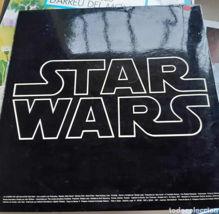 VINILO BANDA SONORA STAR WARS CON POSTER (Música - Discos - LP Vinilo - Bandas Sonoras y Música de Actores )