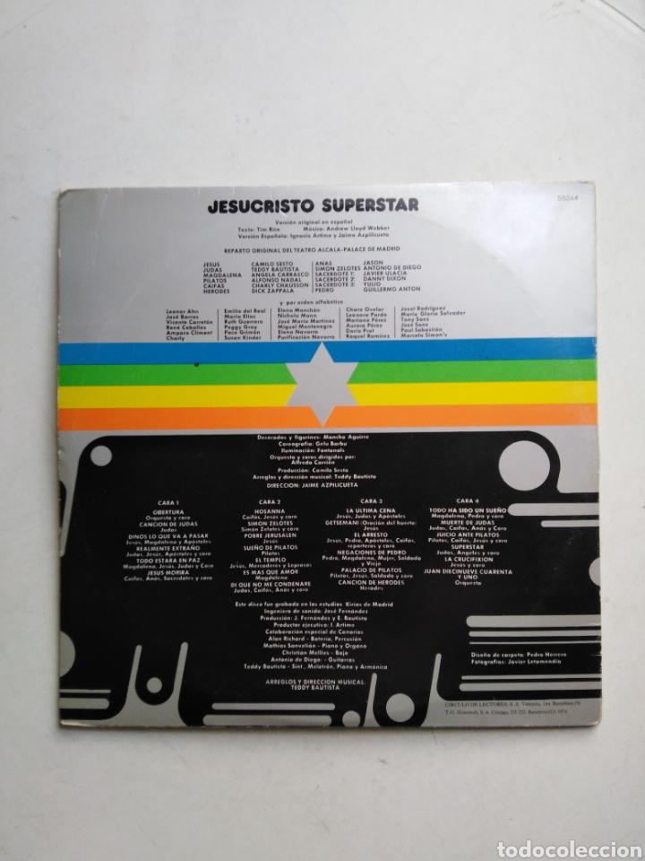 Discos de vinilo: Jesucristo superstar ( versión camilo sesto doble lp ) - Foto 3 - 218112445
