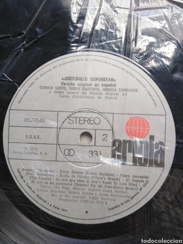 Discos de vinilo: Jesucristo superstar ( versión camilo sesto doble lp ) - Foto 7 - 218112445
