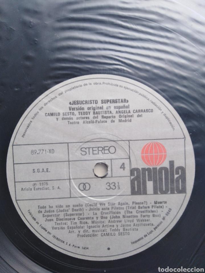 Discos de vinilo: Jesucristo superstar ( versión camilo sesto doble lp ) - Foto 9 - 218112445