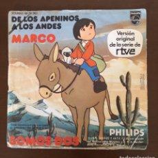 Discos de vinilo: DISCO VINILO SINGLE MARCO. Lote 218114067