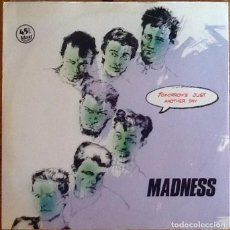 Discos de vinilo: MADNESS : TOMORROW'S JUST ANOTHER DAY [ESP 1983] 12'. Lote 218114971