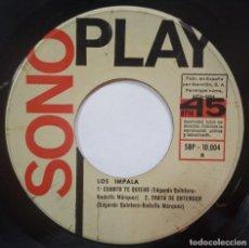 Discos de vinilo: LOS IMPALA - CADA VEZ - EP 1966 - SONOPLAY. Lote 218122553