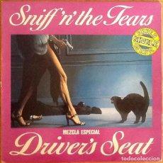 Discos de vinilo: SNIFF 'N' THE TEARS : DRIVER'S SEAT [ESP 1982] 12'. Lote 218128196