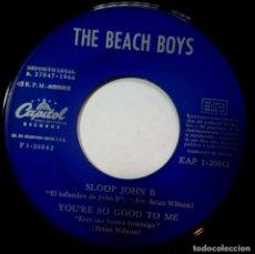Discos de vinilo: THE BEACH BOYS - GOD ONLY KNOWS - EP 1966 - CAPITOL. Lote 218131235