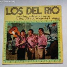 Discos de vinilo: LOS DEL RIO: CHINITA CHULA + 3. EP. TDKDS13. Lote 218131497