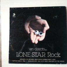 Disques de vinyle: LONE ESTAR EN DIRECTO. Lote 218133443