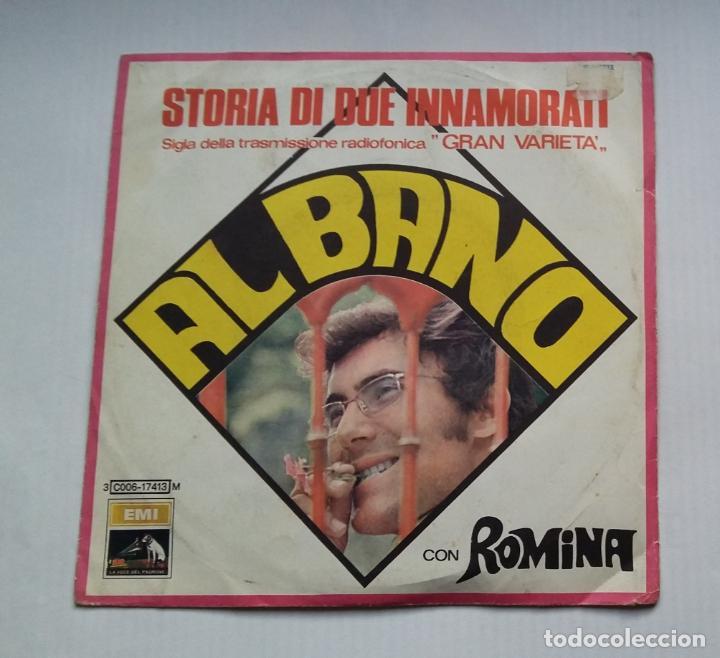 AL BANO. ALBANO. STORIA DI DUE INNAMORATI -. SINGLE. TDKDS13 (Música - Discos - Singles Vinilo - Canción Francesa e Italiana)