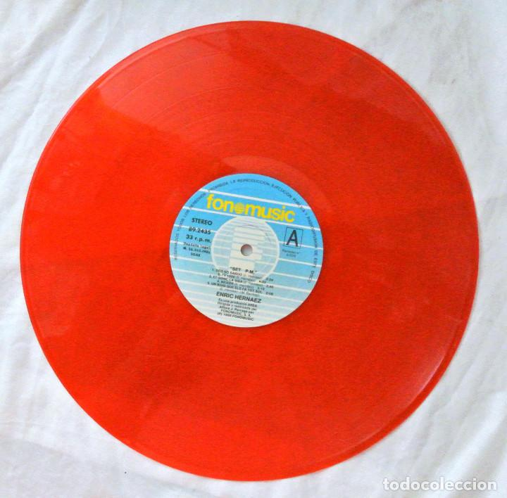Discos de vinilo: ENRIC HERNÀEZ - 7 P.M., DISCO VINILO LP, FONOMUSIC , 1986 - Foto 3 - 218134015