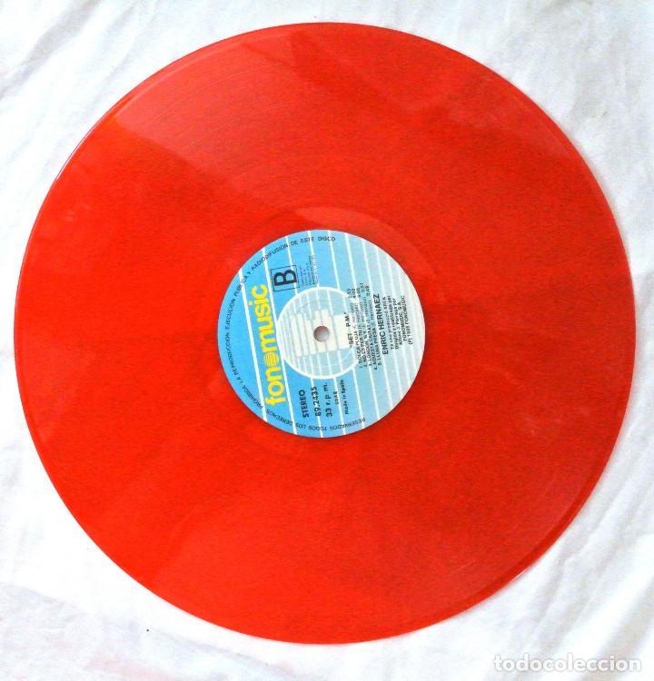 Discos de vinilo: ENRIC HERNÀEZ - 7 P.M., DISCO VINILO LP, FONOMUSIC , 1986 - Foto 4 - 218134015