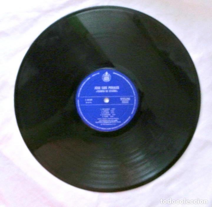 Discos de vinilo: JOSE LUIS PERALES - TIEMPO DE OTOÑO, DISCO VINILO LP, HISPAVOX , 1979 - Foto 4 - 218135676