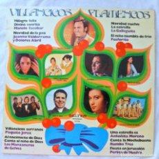 Discos de vinilo: VILLANCICOS FLAMENCOS, RECOPILATORIO, DISCO VINILO LP, BELTER , 1975. Lote 218136632