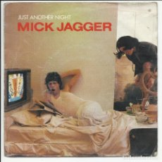Discos de vinilo: MICK JAGGER - ROLLING STONES JUST ANOTHER NIGHT SINGLE HOLANDA 1986. Lote 218138866