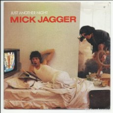 Discos de vinilo: MICK JAGGER – ROLLING STONES JUST ANOTHER NIGHT SINGLE?– CBS A 4722 ESPAÑA 1985. Lote 218139493