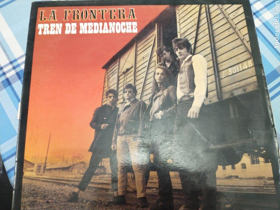 LA FRONTERA LP (Música - Discos - LP Vinilo - Grupos Españoles de los 70 y 80)