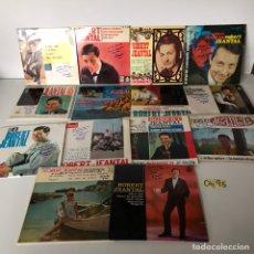Discos de vinilo: LOTE DE SINGLES ROBERT JEANTAL FIRMADOS. Lote 218143017