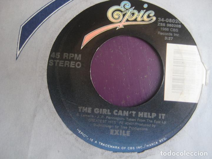 Discos de vinilo: Exile - Its You Again - Sg EPIC 1987 - ROCK SUREÑO - COUNTRY AMERICANA 80S - SIN APENAS USO - Foto 2 - 218144926