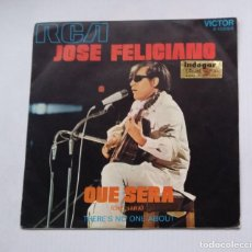 Discos de vinilo: JOSE FELICIANO QUE SERA - THERE'S NO ONE ABOUT SINGLE. TDKDS13. Lote 218146170