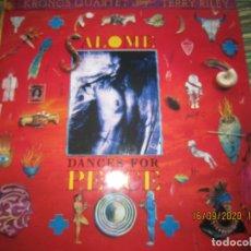 Discos de vinilo: KRONOS QUARTET PLAYS TERRY RILEY - DANCE FOR PEACE 2LP ORIGINAL ALEMAN - ELEKTRA 1989 MUY NUEVO(5). Lote 218146457