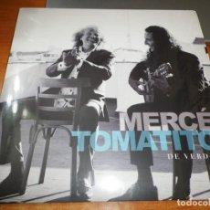 Discos de vinilo: JOSE MERCE & TOMATITO DE VERDAD LP VINILO PRECINTADO DEL AÑO 2018 CONTIENE 11 TEMAS. Lote 218146761