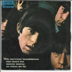 Discos de vinilo: THE ROLLING STONES – 19TH NERVOUS BREAKDOWN EP DECCA – SDGE 81 128 ESPAÑA 1964. Lote 218148653