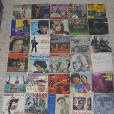 Discos de vinilo: LOTE DE 38 SINGLES VARIADOS. Lote 218151318