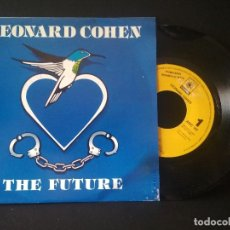 Discos de vinilo: LEONARD COHEN THE FUTURE SINGLE SPAIN 1993 PDELUXE. Lote 218152253