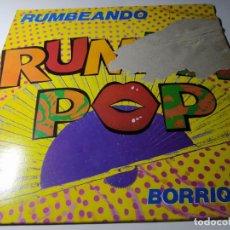 Discos de vinilo: MAXI - RUMBA POP ?– BORRIQUITO - 871 683-1 ( VG+ / F) SPAIN 1989. Lote 218152590