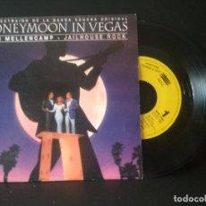 Discos de vinilo: JOHN MELLECAMP JAILHOUSE ROCK SINGLE SPAIN 1993 PDELUXE. Lote 218153166