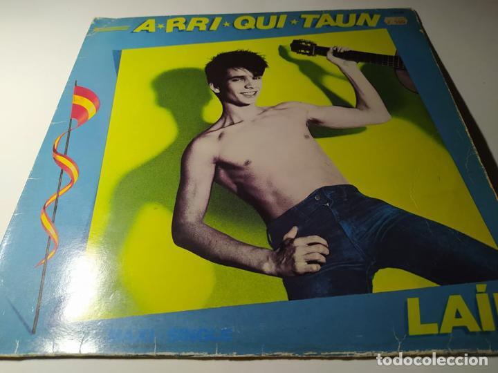 LP - LAÍN ?– A-RRI-QUI-TAUN - F-601.389 ( VG+ / VG+) SPAIN 1984 (Música - Discos de Vinilo - Maxi Singles - Solistas Españoles de los 70 a la actualidad)
