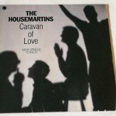 Discos de vinilo: THE HOUSEMARTINS - CARAVAN OF LOVE - 1983. Lote 218158570