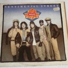 Discos de vinilo: NIGHT RANGER - SENTIMENTAL STREET (LONG VERSION) / NIGHT MACHINE - 1985. Lote 218158953