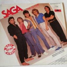 Discos de vinilo: SAGA - THE FLYER (EXTENDED VERSION) - 1983. Lote 218158992