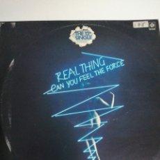 Discos de vinilo: MAXI DISCO VINILO REAL THING. Lote 218159747