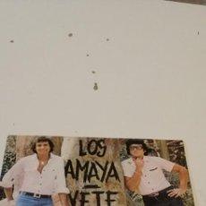 Disques de vinyle: BAL-3 DISCO CHICO 7 PULGADAS LOS AMAYA VETE LLORARAS. Lote 218159773