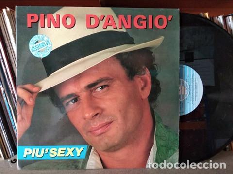 PINO D'ANGIÓ - PIU´SEXY - MAXI-SINGLE SPAIN 1987 (Música - Discos de Vinilo - Maxi Singles - Canción Francesa e Italiana)
