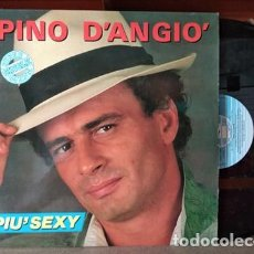Discos de vinilo: PINO D'ANGIÓ - PIU´SEXY - MAXI-SINGLE SPAIN 1987. Lote 218159783