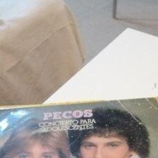 Discos de vinilo: BAL-7 DISCO GRANDE 12 PULGADAS PECOS CONCIERTO PARA ADOLESCENTES. Lote 218160732