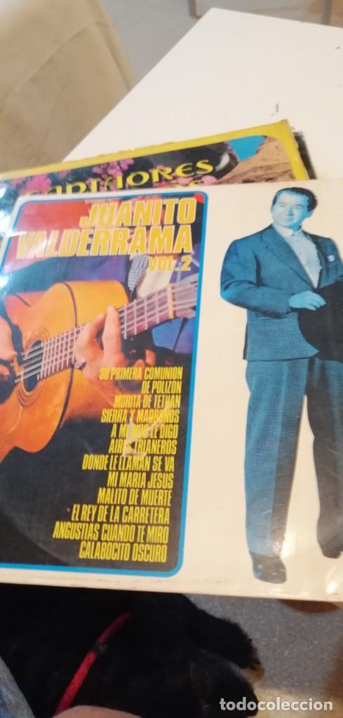 BAL-7 DISCO GRANDE 12 PULGADAS JUANITO VALDERRAMA VOL 2 (Música - Discos - LP Vinilo - Flamenco, Canción española y Cuplé)