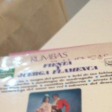 Discos de vinilo: BAL-7 DISCO GRANDE 12 PULGADAS FIESTA Y JUERGA FLAMENCA. CORALITO DE PALMA ANTONIO CARMONA. Lote 218160942