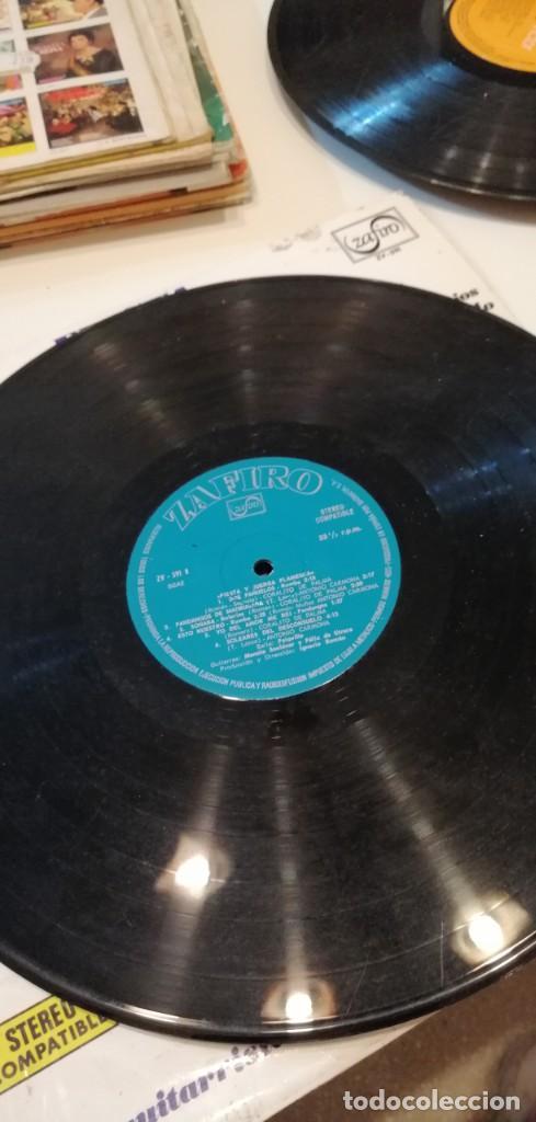 Discos de vinilo: BAL-7 DISCO GRANDE 12 PULGADAS FIESTA Y JUERGA FLAMENCA. CORALITO DE PALMA ANTONIO CARMONA - Foto 3 - 218160942