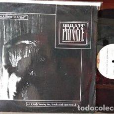 Discos de vinilo: PRIVATE LIVES - FROM A RIVER TO A SEA MAXI VINILO 1984. Lote 218160967