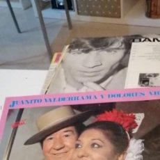 Discos de vinilo: BAL-7 DISCO GRANDE 12 PULGADAS SEVILLANAS - JUANITO VALDERRAMA Y DOLORES ABRIL - POR SEVILLANAS. Lote 218161256