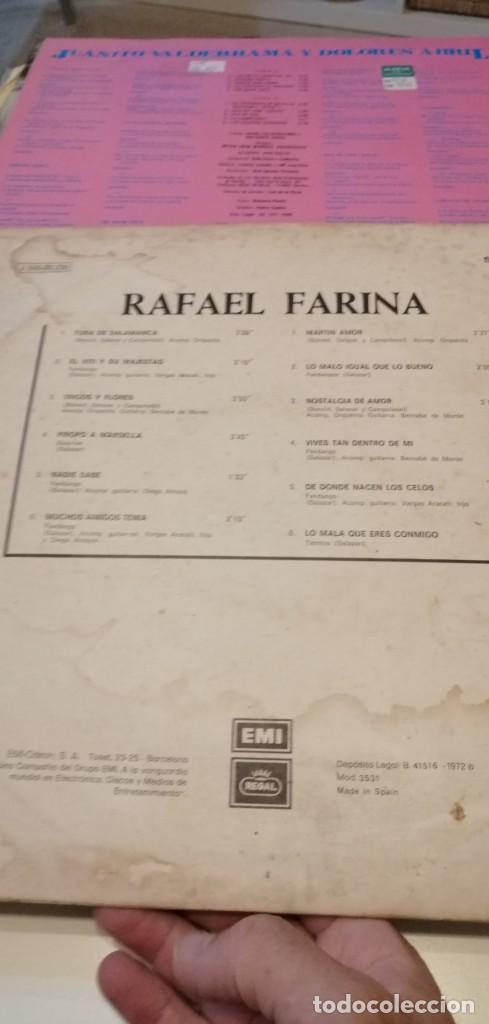 Discos de vinilo: BAL-7 DISCO GRANDE 12 PULGADAS RAFAEL FARINA SERIE AZUL TUNA DE SALAMANCA ETC - Foto 2 - 218161356