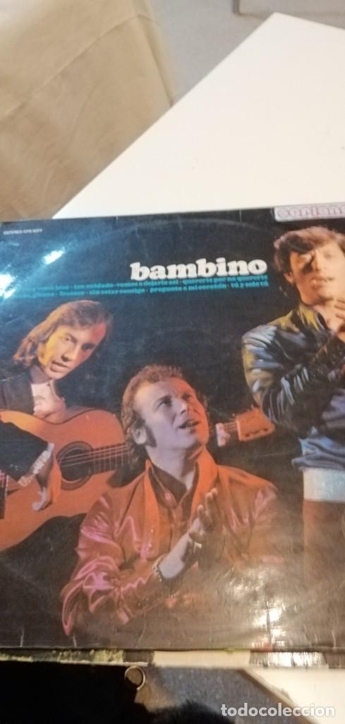 BAL-7 DISCO GRANDE 12 PULGADAS LP DE BAMBINO - CANTA MI GITANA, FRACASO, HABLAME, VAMOS A DEJARLO AS (Música - Discos - LP Vinilo - Flamenco, Canción española y Cuplé)