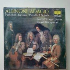 Discos de vinilo: ALBINONI ADAGIO. Lote 218166848