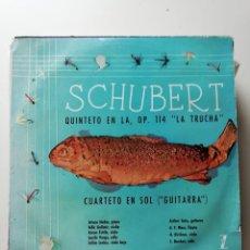 Discos de vinilo: SCHUBERT. Lote 218167943