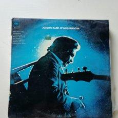 Discos de vinilo: JOHNNY CASH. Lote 218167986